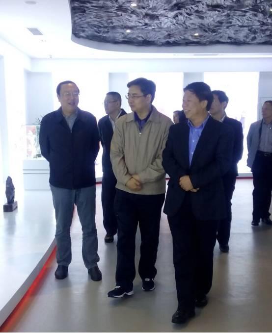 苏州市领导率考察团莅临朱砂古镇考察